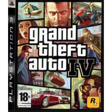 Grand Theft Auto IV (Lietota)